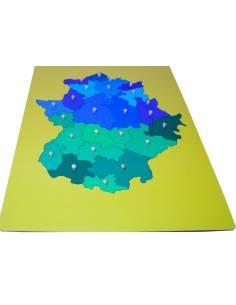 Mapa Extremadura- Mediano