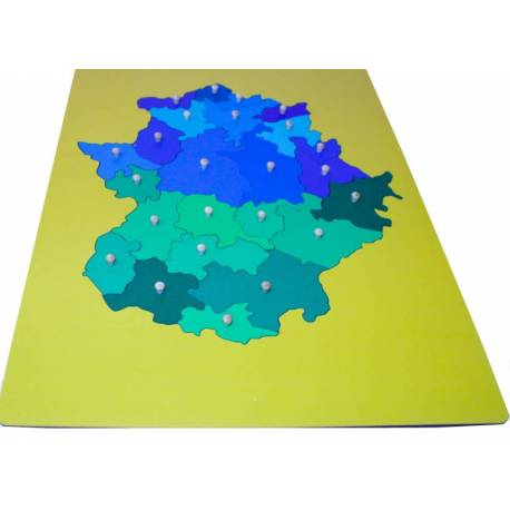 Mapa Montessori Extremadura- Mediano