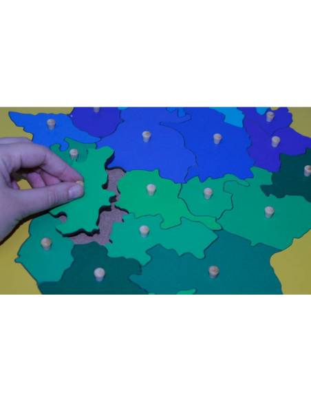 Mapa Extremadura- Mediano  Mapas de España