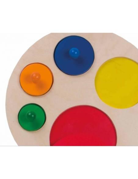 Puzzle de círculos gigante  Infant