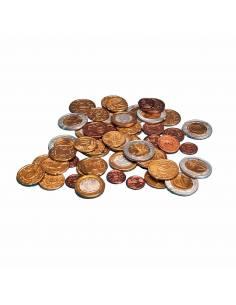 Surtido de monedas