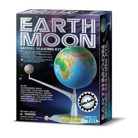 Crea y modela la Tierra - Luna  Ciencia y medio ambiente
