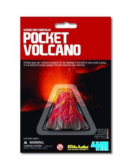 Mini volcán  Física y Experimentos