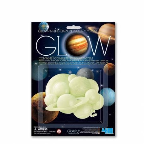 Sistema Solar Fluorescente adhesivo