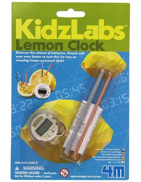 Lemon clock  Física y Experimentos