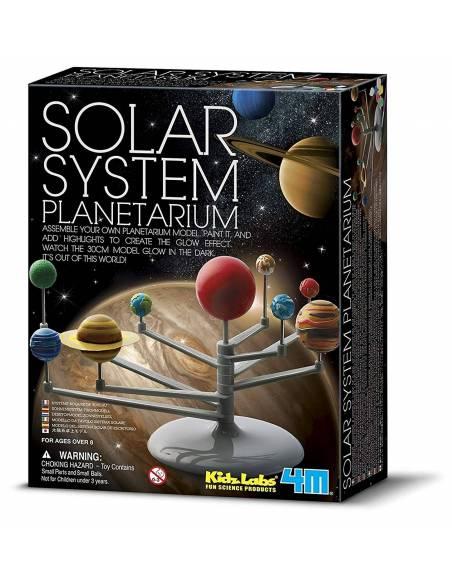 Crea y modela tu sistema solar planetario  Ciencia y medio ambiente