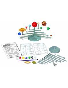 Crea y modela tu sistema solar planetario