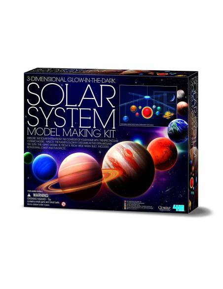 Monta tu móvil del Sistema Solar (grande)  Ciencia y medio ambiente