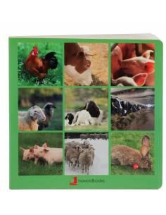 Cuento Imágenes Animales de la Granja Cartón