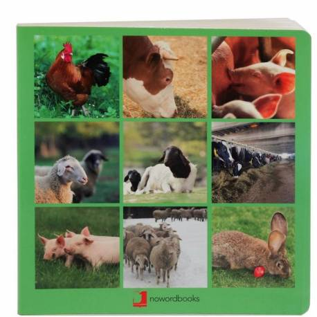 Cuento Imágenes reales - Animales de la Granja  Libros con Imágenes Reales