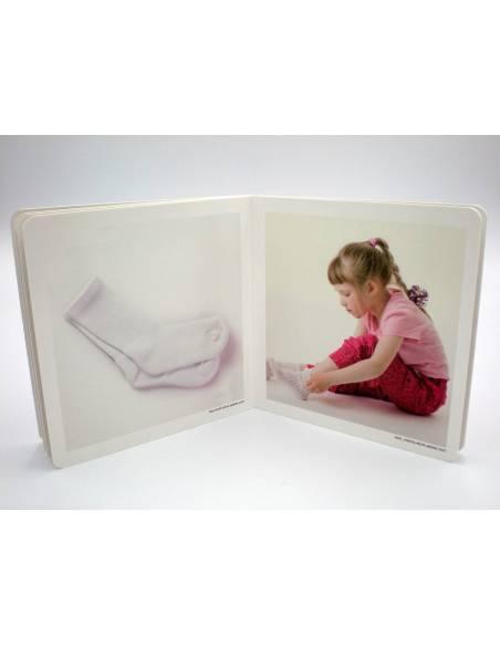 Cuento Imágenes reales a vestirse  Libros para bebés