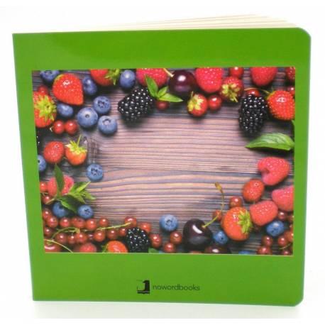 Cuento Imágenes Frutos del Bosque Cartón  Libros para bebés