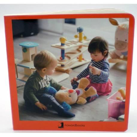 Cuento Imágenes Hábitos y Rutinas cartón  Libros para bebés