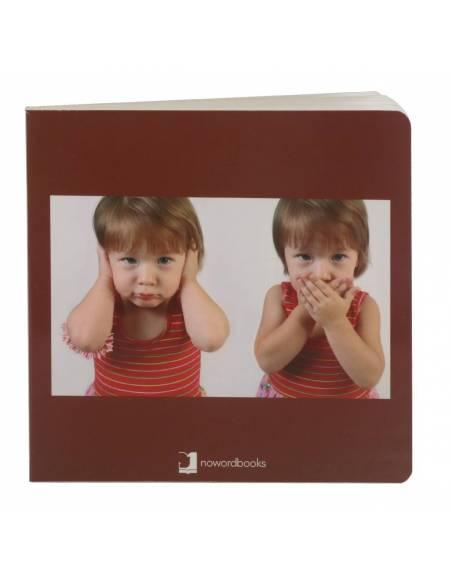 Cuento Imágenes Las Emociones cartón  Libros para bebés