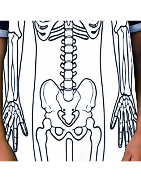 Delantal esqueleto (12 uds)  Ciencia y medio ambiente
