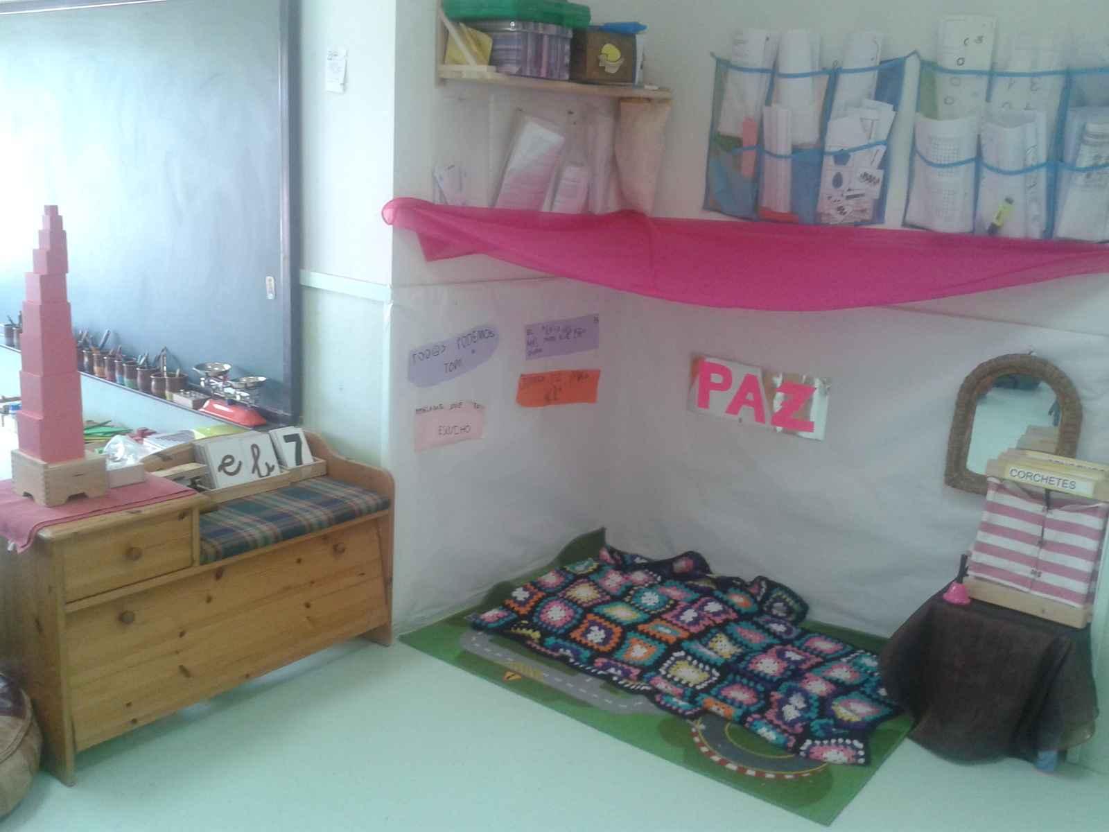 Rincón De Infantil Día De La Paz: Montessori Para Todos