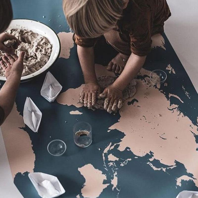 mapas para el suelo
