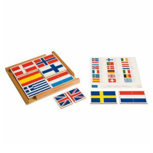 banderas-en-puzle