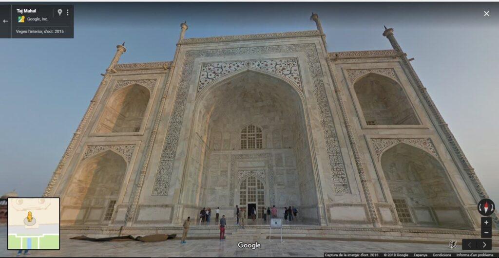 Taj Mahal, en la Índia