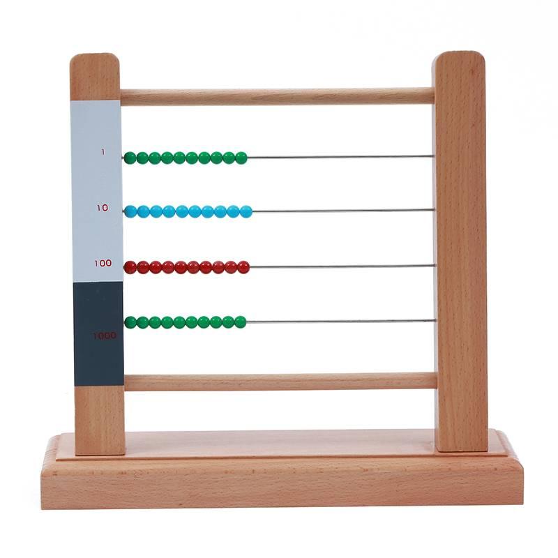 Ábaco Montessori pequeño