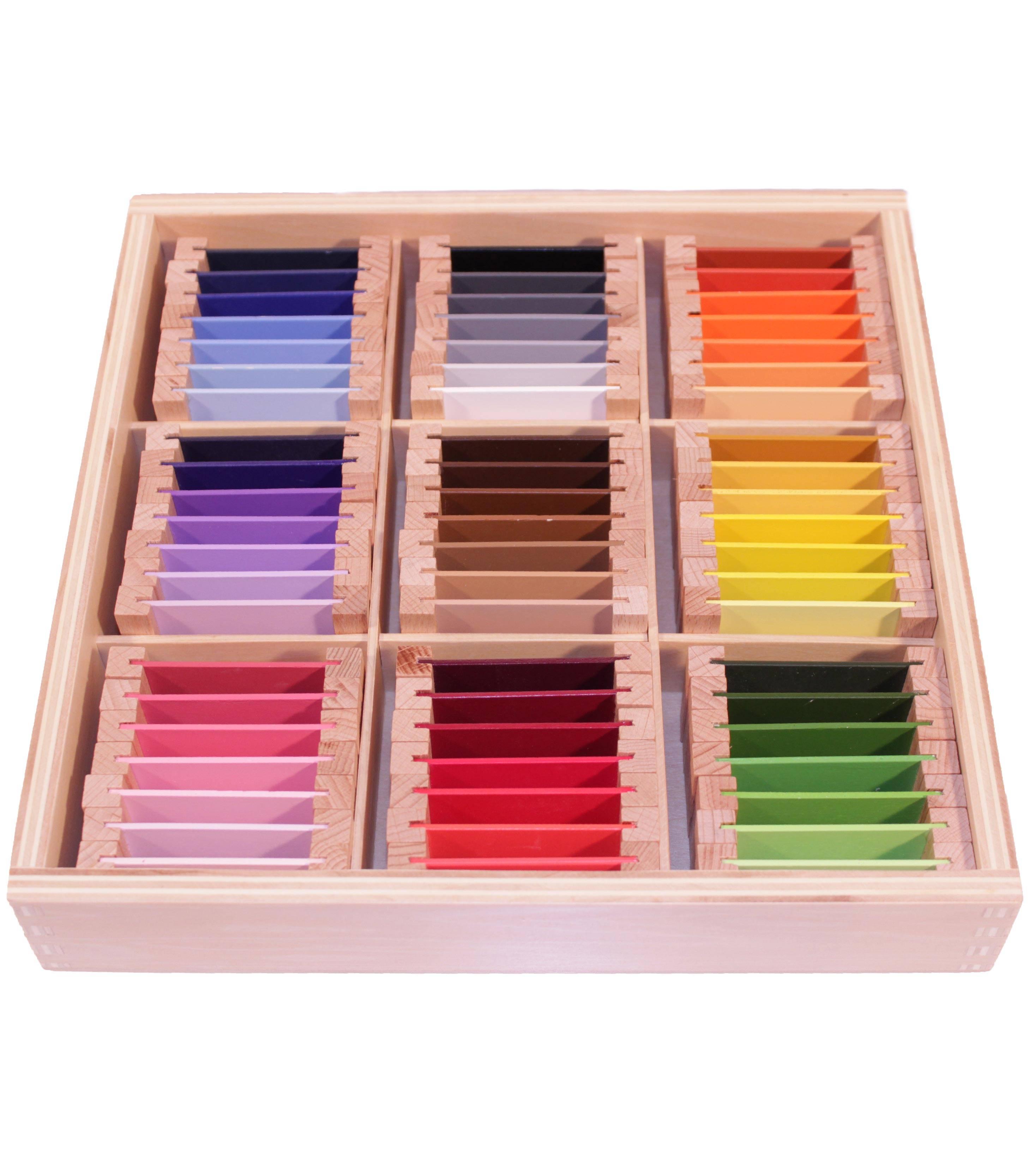 Caja de color nº 3*