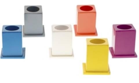 11 Botes colores para lápices